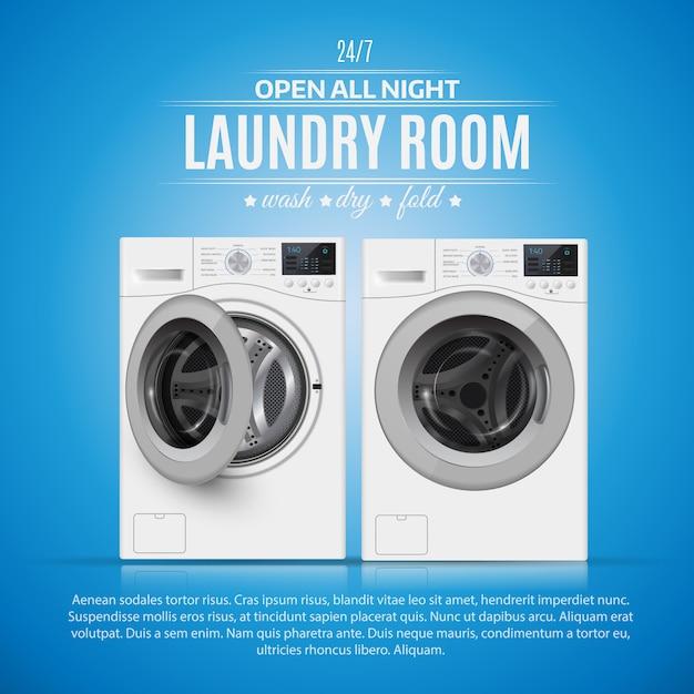 Wäschekammer Premium Vektoren