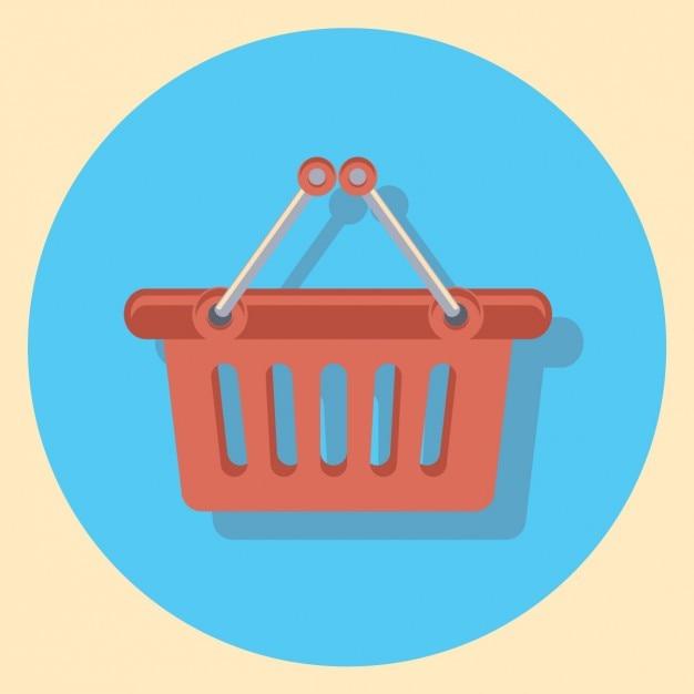 Warenkorb-symbol Kostenlosen Vektoren