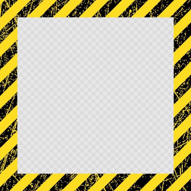 Warnschutzrahmen Premium Vektoren