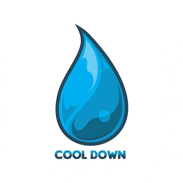 Wasser logo vektor Premium Vektoren