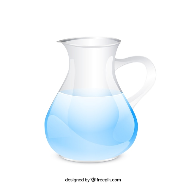 Wasserkrug Kostenlosen Vektoren