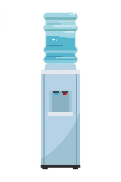 Wasserspender maschine Premium Vektoren