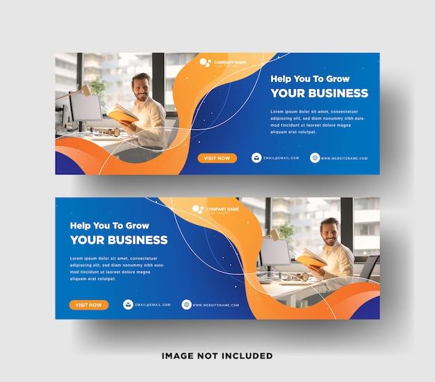 Web-banner-schablone des lebensmittelrestaurants mit einem modernen eleganten 3d-design Premium Vektoren