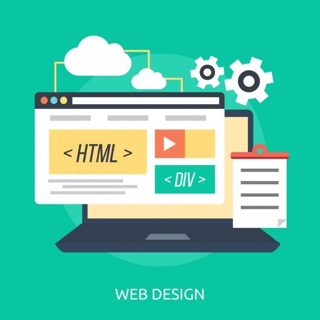 Web-design-hintergrund Kostenlosen Vektoren