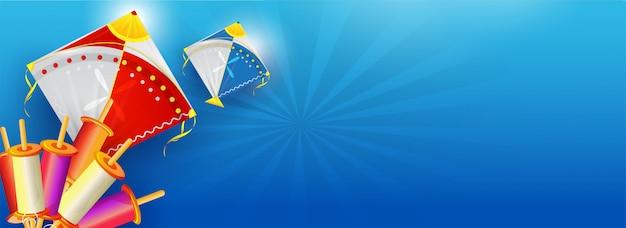 Websitetitel oder fahnendesign mit illustration des bunten ki Premium Vektoren