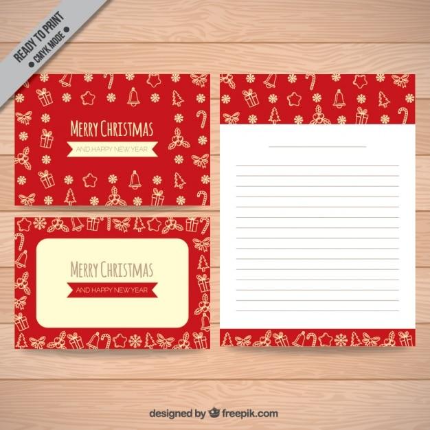 weihnachten briefe mit sch nen skizzen download der. Black Bedroom Furniture Sets. Home Design Ideas