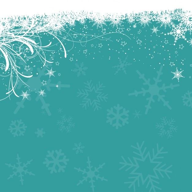 Weihnachten hintergrund der schneeflocken und sternen download der kostenlosen vektor - Weihnachten hintergrund kostenlos ...