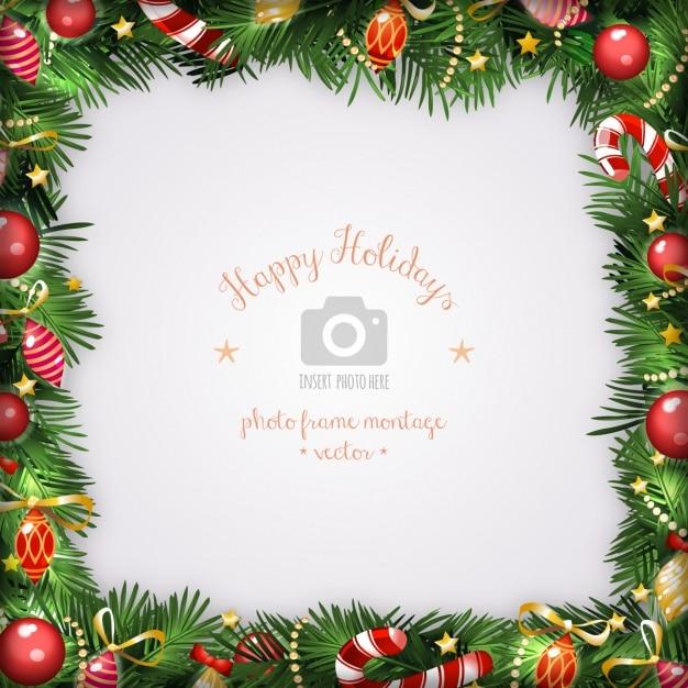 Weihnachten rahmen vektoren fotos und psd dateien for Xmas bilder kostenlos