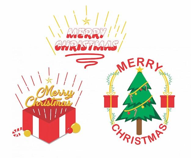 Weihnachten illustration Premium Vektoren