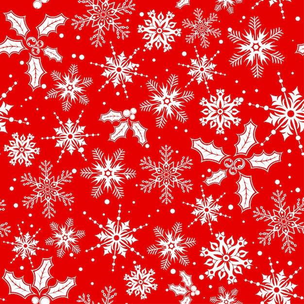 Weihnachten nahtlose hintergrund Premium Vektoren