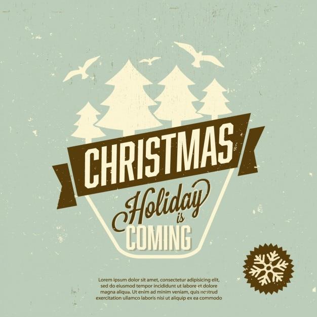 weihnachten poster download der kostenlosen vektor. Black Bedroom Furniture Sets. Home Design Ideas