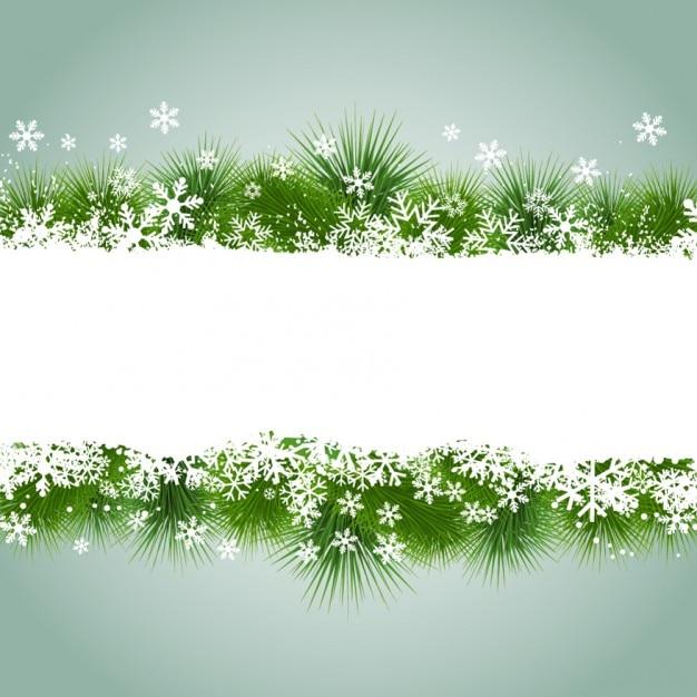 weihnachten rahmen mit schneeflocken und gras download. Black Bedroom Furniture Sets. Home Design Ideas