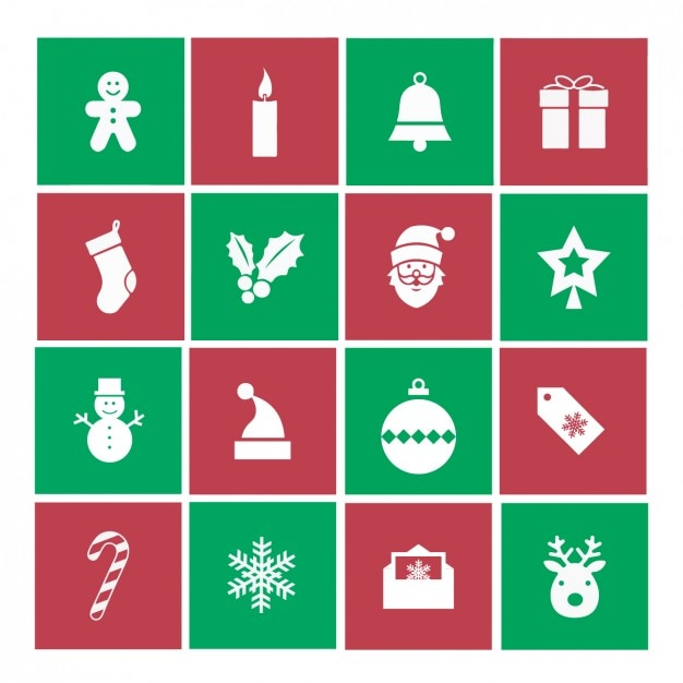Weihnachts Icons