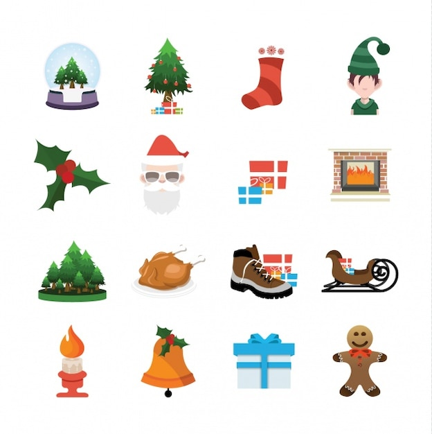 Weihnachten Icons