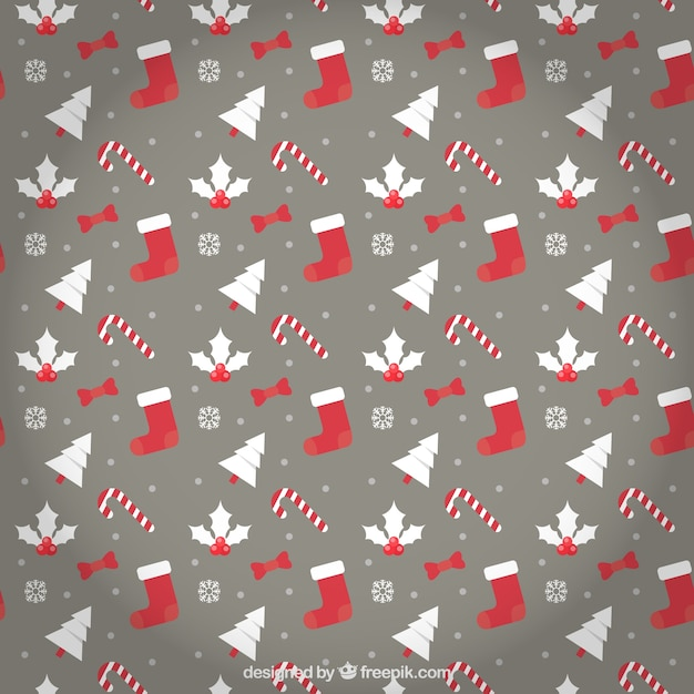 weihnachts muster in rot und braun download der. Black Bedroom Furniture Sets. Home Design Ideas