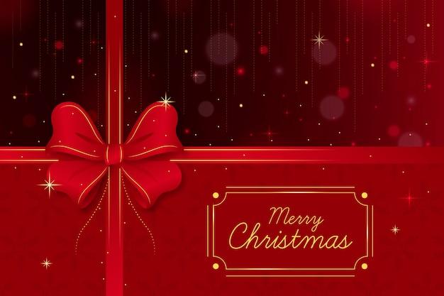 Weihnachtsband hintergrund Kostenlosen Vektoren