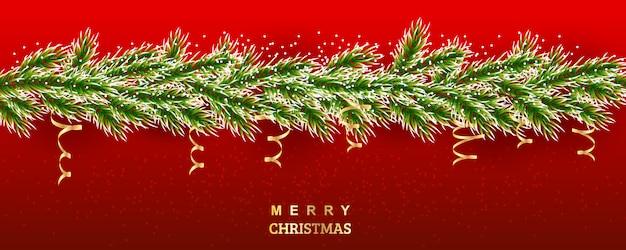 Weihnachtsbaum abbildung Premium Vektoren