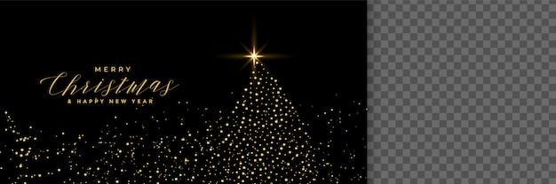 Schwarzer Weihnachtsbaum.Weihnachtsbaum Gemacht Mit Schwarzer Fahne Der Schein