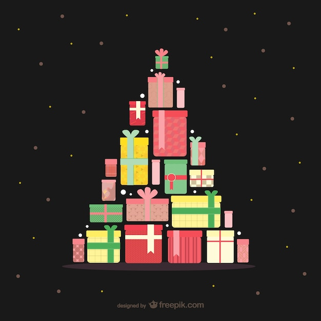 weihnachtsbaum mit geschenken download der kostenlosen. Black Bedroom Furniture Sets. Home Design Ideas