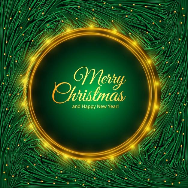 Weihnachtsfeiertag für tannenbaumastdesign Kostenlosen Vektoren