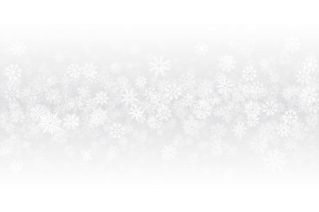 Weihnachtsfreier weißer hintergrund Premium Vektoren
