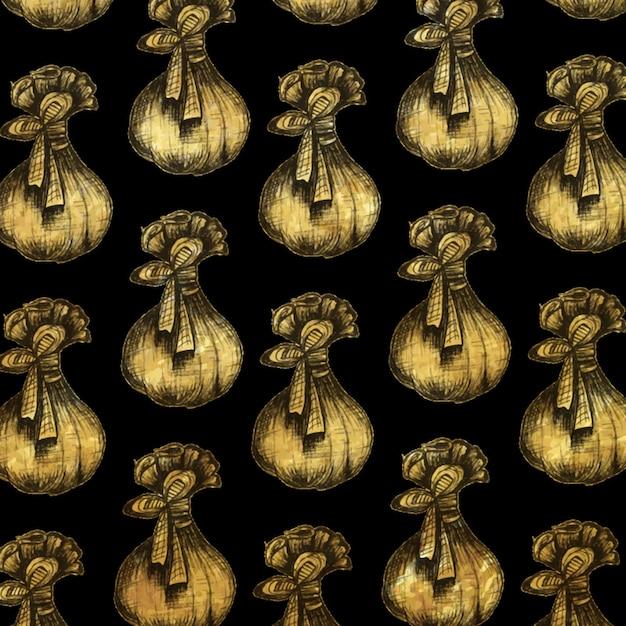 Weihnachtsgoldener schraffierender art-element-hintergrund Kostenlosen Vektoren