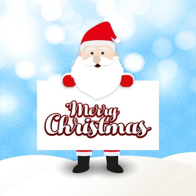 weihnachtsgr e karte mit weihnachtsmann download der. Black Bedroom Furniture Sets. Home Design Ideas