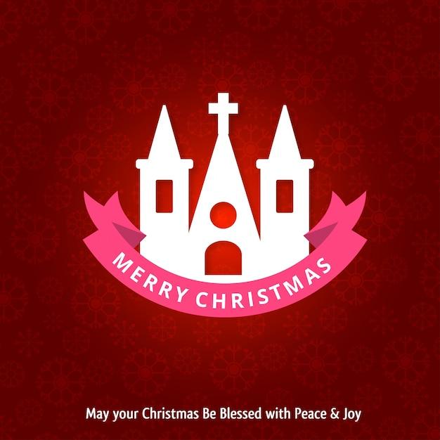 Weihnachtsgrußkarte oder plakatdesign Premium Vektoren
