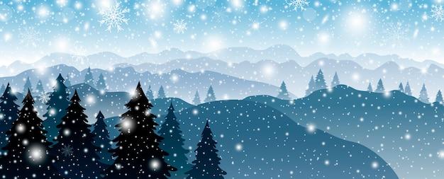 Weihnachtshintergrunddesign Premium Vektoren