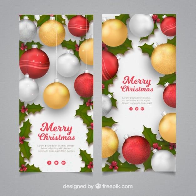 Weihnachtskarten mit dekorativen kugeln download der - Kostenlose weihnachtskarten ...