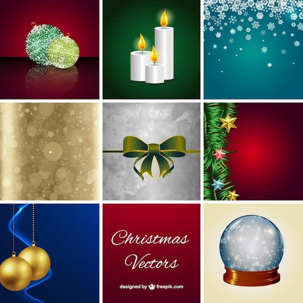 Weihnachtskarten packen download der kostenlosen vektor - Interaktive weihnachtskarten kostenlos ...