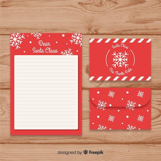 Weihnachtsmann Schneeflocke Brief Vorlage Download Der Kostenlosen