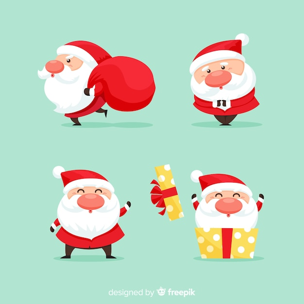 Weihnachtsmann Kostenlosen Vektoren