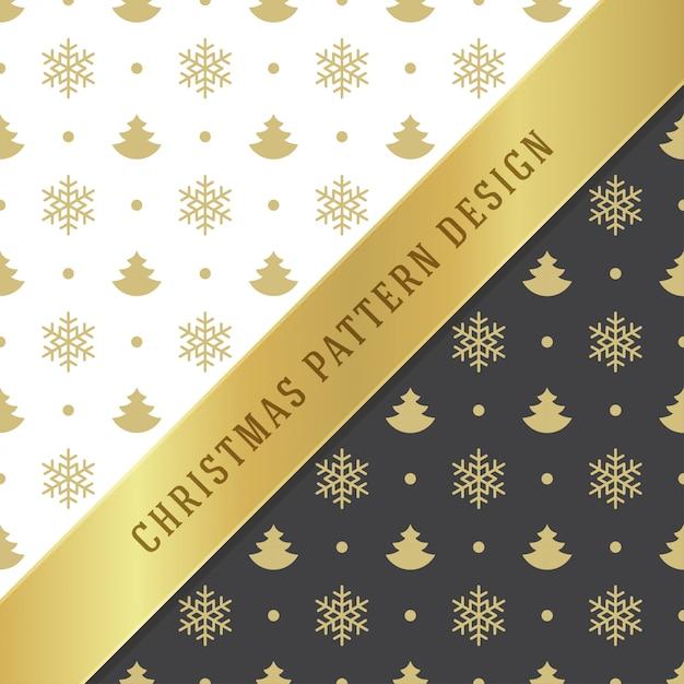Weihnachtsnahtloses muster für packpapier und grußkarte Premium Vektoren