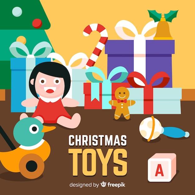 Weihnachtsspielzeug Kostenlosen Vektoren