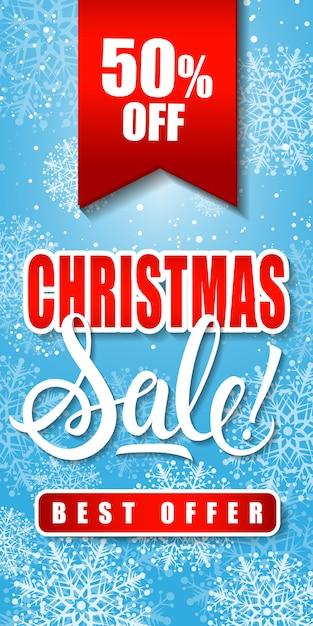 Weihnachtsverkauf Bestes Angebot Schriftzug   Download der ...