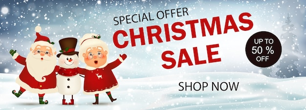 Weihnachtsverkauf. sonderangebot. jetzt einkaufen. weihnachtswerbung design. weihnachtsverkauf saison banner. Premium Vektoren