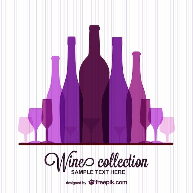 Wein-Vorlage kostenlos Vektor   Download der kostenlosen Vektor