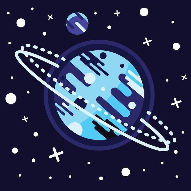 Weinleseraum und astronautenhintergrund. Kostenlosen Vektoren