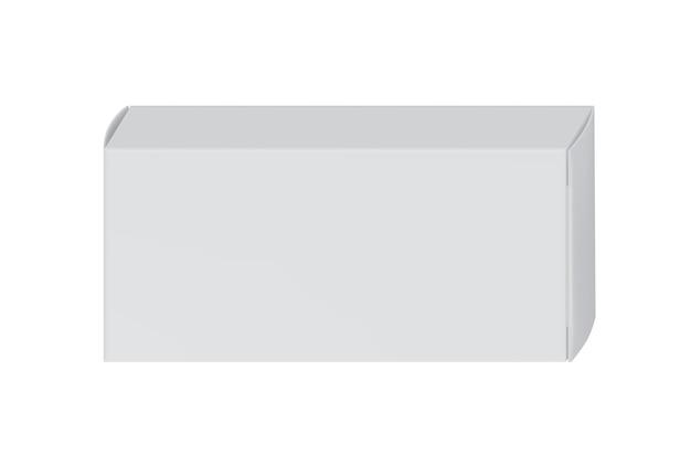 Weiße packung für pillenblister Premium Vektoren