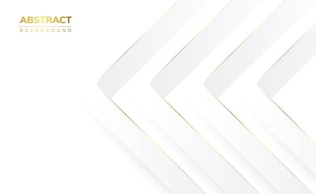 Weißer abstrakter hintergrund Premium Vektoren