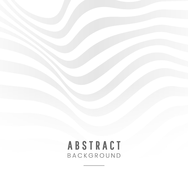 Weißer abstrakter hintergrunddesignvektor Kostenlosen Vektoren
