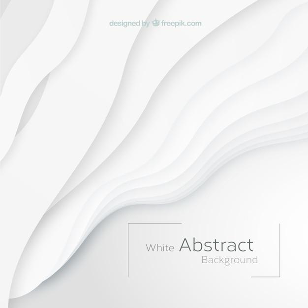 Weißer hintergrund mit abstrakten formen Kostenlosen Vektoren