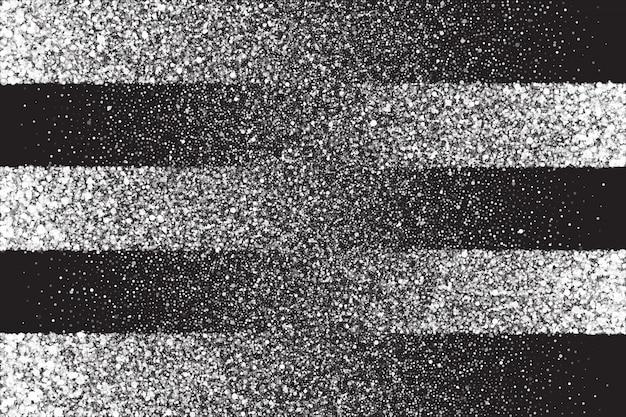 Weißer schimmer-glühender partikel-abstrakter hintergrund Premium Vektoren