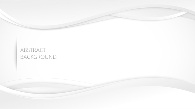 Weißes graues hintergrundvektordesign. Premium Vektoren