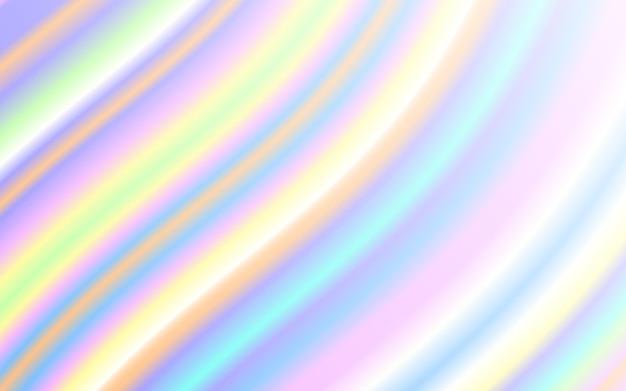 Wellenflüssigkeit form pastell regenbogen farbe hintergrund Premium Vektoren