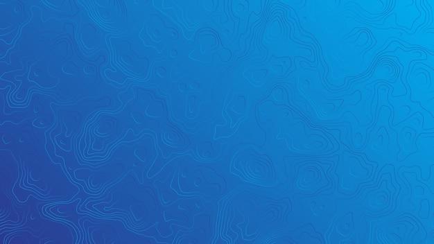 Wellenförmige zeilen blauer hintergrund-vektor Premium Vektoren