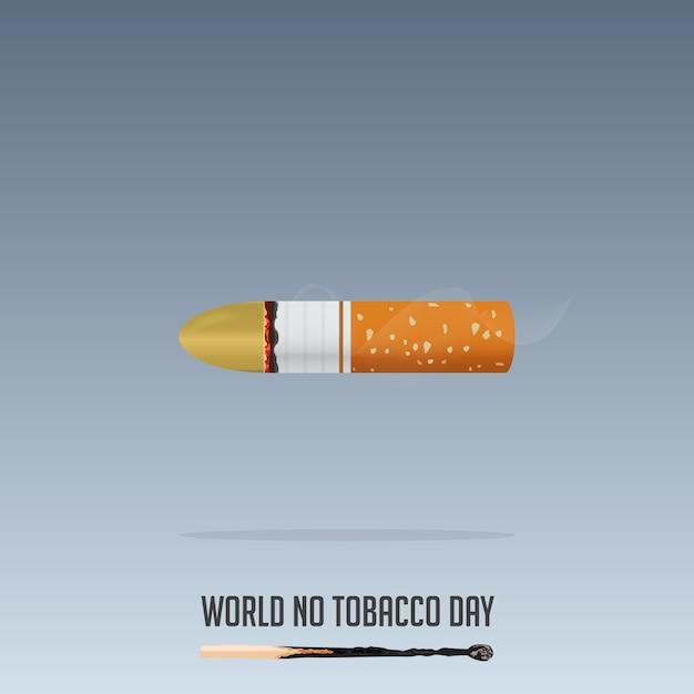 Weltnichtrauchertag, 31. mai rauchverbot. Premium Vektoren
