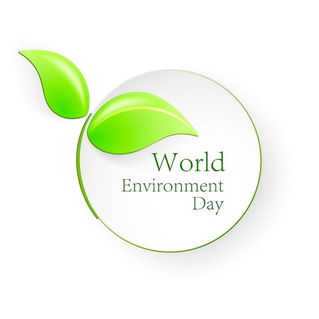 Weltumwelttag Premium Vektoren