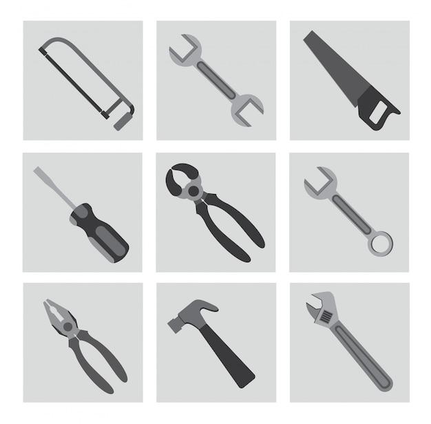 Werkzeuge Kostenlosen Vektoren